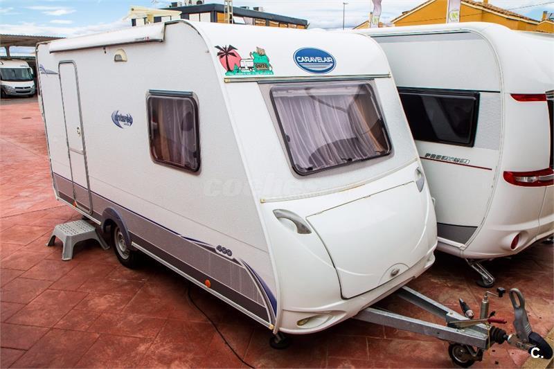 Caravana segunda mano Caravelair Antares Luxe 400