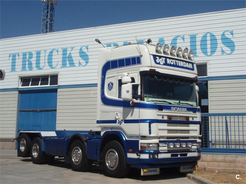 SCANIA r164. 480 (8x2) chasis 4 ejes