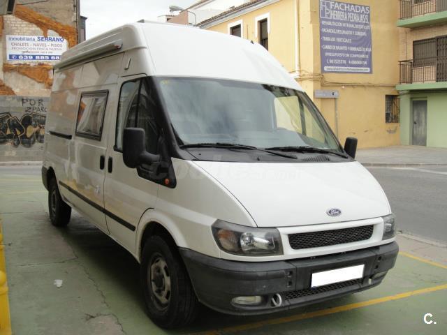 ford transit camper homologada vehículo vivienda