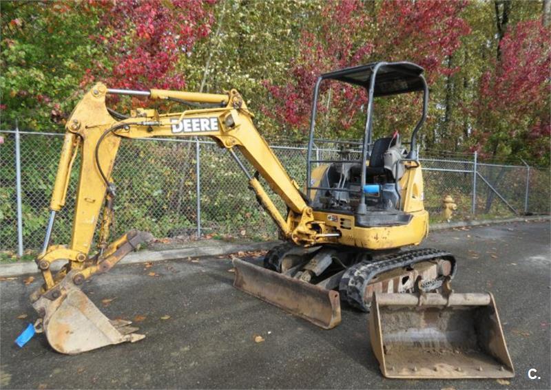 Mini Excavadora John Deere 27C ZTS 2003 27C ZTS