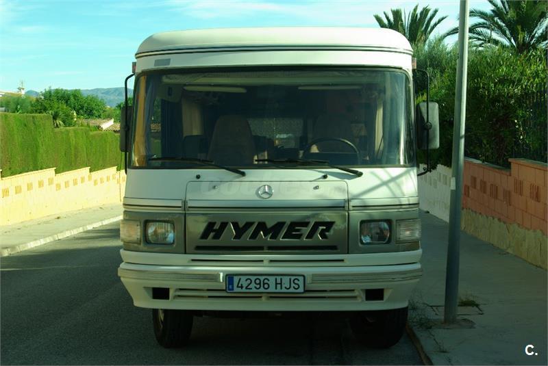 Vendo autocaravana integral Hymer S555