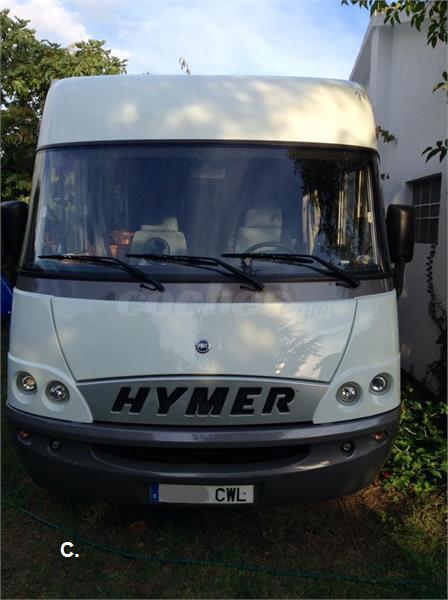 Vendo Autocaravana Integral Hymer B 624