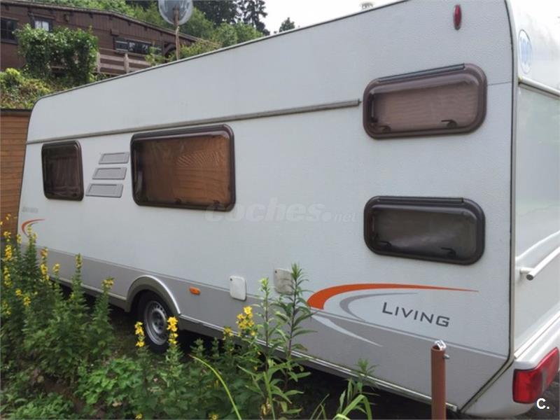 Caravana HYMER ERIBA Living 560 en buen estado