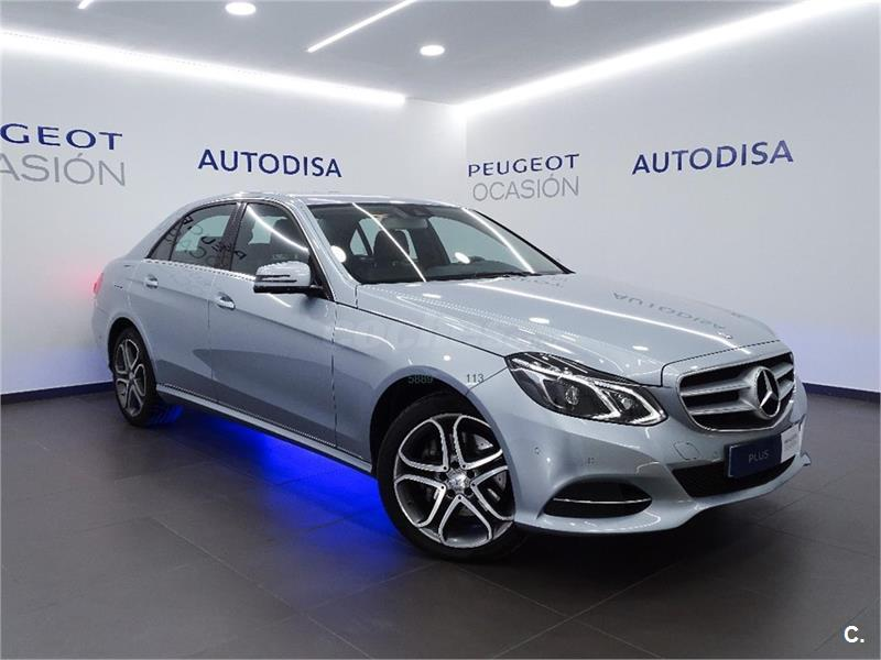MERCEDES-BENZ Clase E E 220 BlueTEC 4MATIC Avantgarde 4p.
