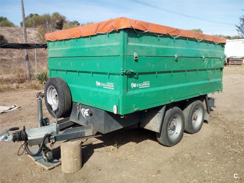 Remolque basculante 3500kg