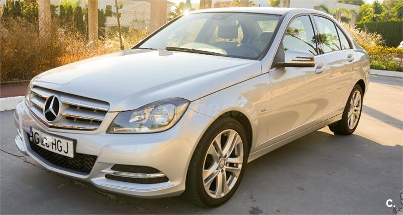 MERCEDES-BENZ Clase C C 200 CDI Blue Efficiency Avantgarde 4p.