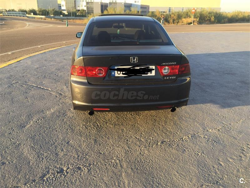 HONDA Accord 2.2 iCTDi Executive Piel 4p.