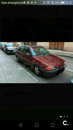OPEL Astra ASTRA 1.6I 16V GL 5p.