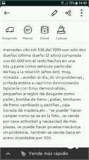 MERCEDES-BENZ Vito 108CDI 2.2TD 4p.