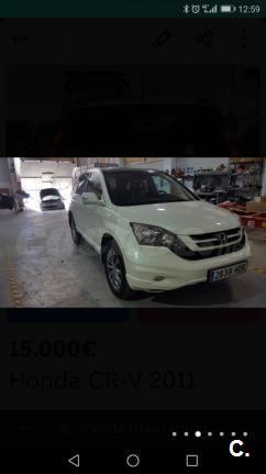 HONDA CRV 2.2 iDTEC Elegance 5p.