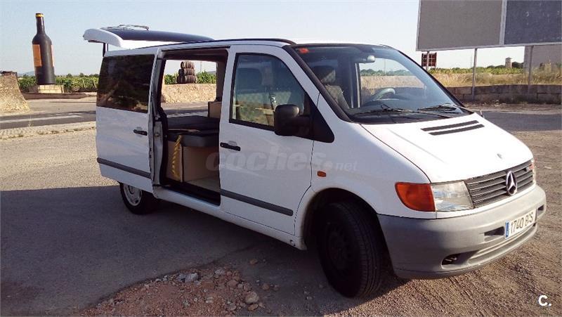 MERCEDES VITO L 110 CDI año 2002 carrozada para camping