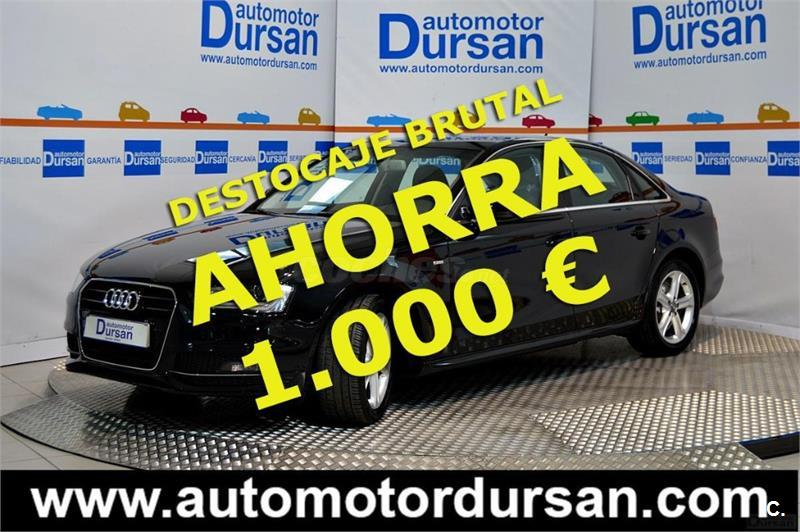 AUDI A4 2.0 TDI 150cv S line edition 4p.