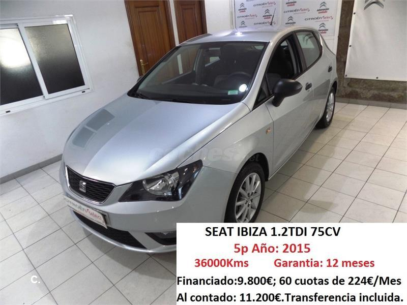 SEAT Ibiza 1.2 TDI 75cv Reference Ecomotive 5p.