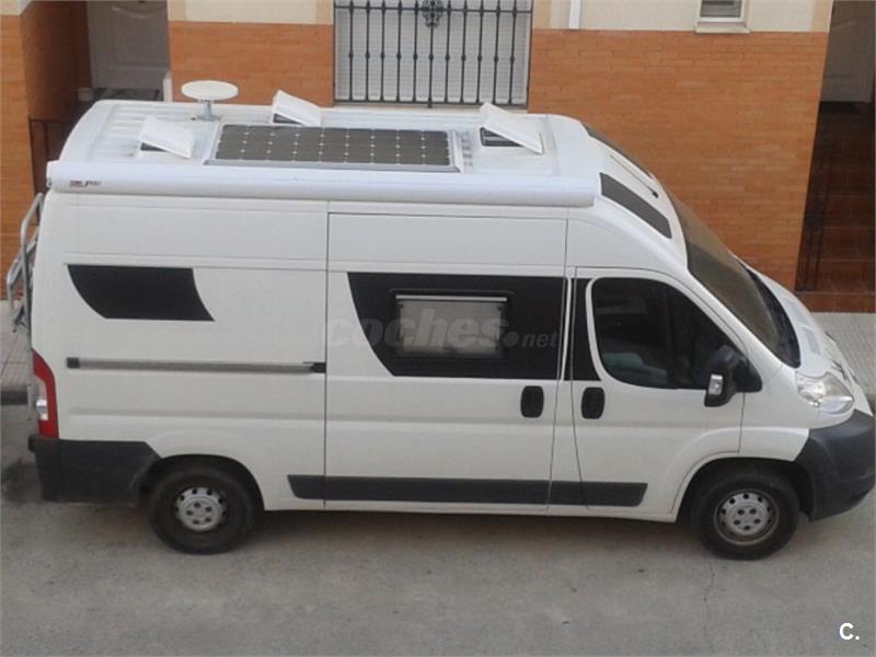 Camper autocaravana Peugeot Boxer L2H2 5.40metros