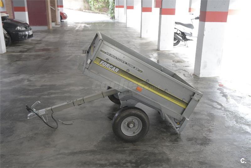 Remolque carga ligero hasta 450kg; caja basculante 128X86X32