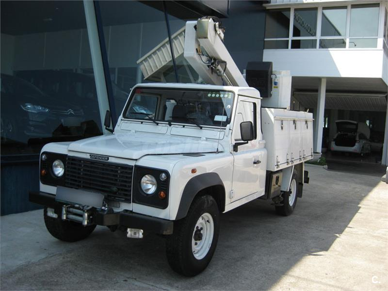LAND-ROVER Defender 130 2.5 TD5 Chasis Cabina E