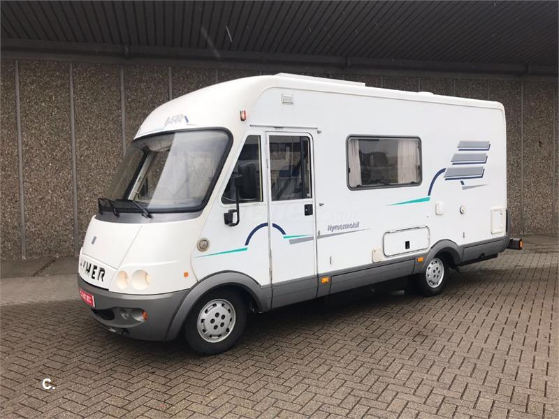 Fiat Hymer B544 6 plzas **AIRE AC**