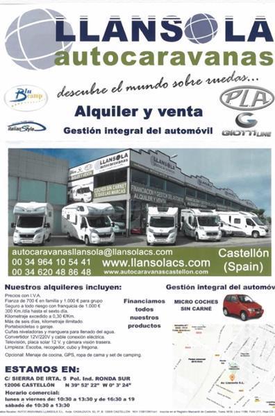 Alquiler parking Autocaravanas Castellon