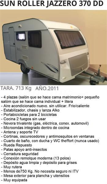 Caravana Sun Roller 370 - Oportunidad
