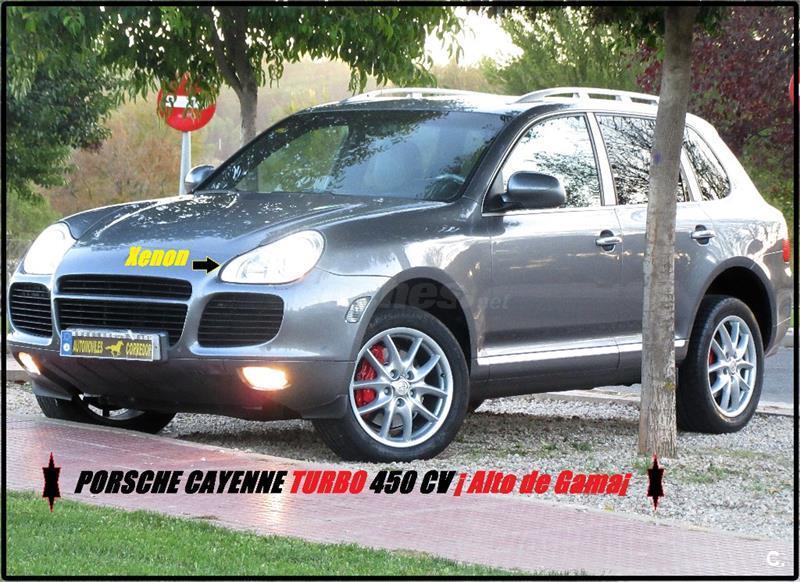 PORSCHE Cayenne Turbo 5p.