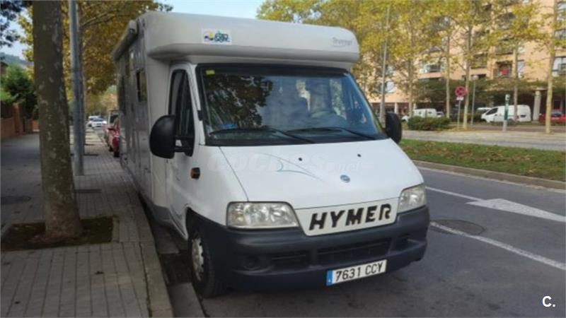 Autocaravana Fiat Hymer Tramp 655. 7631. CCY