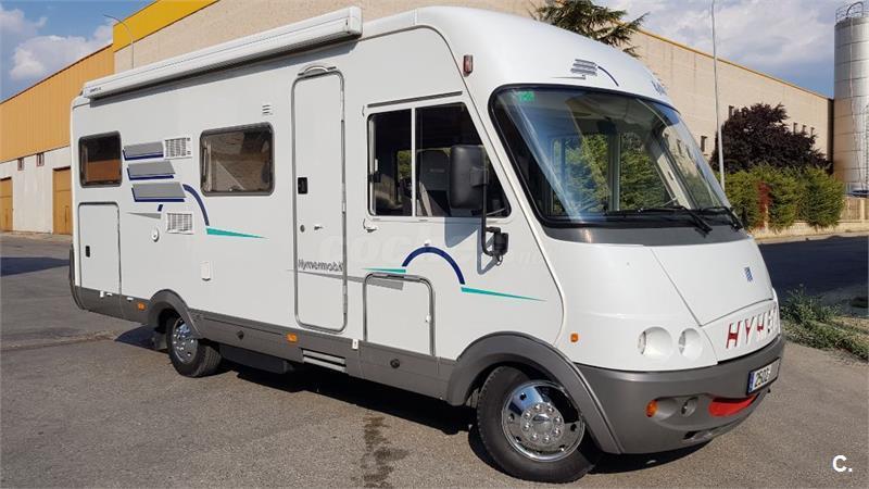 hymer integral b 644 maletero xxl 5 plazas aire acondicionado cabina muy cuidada