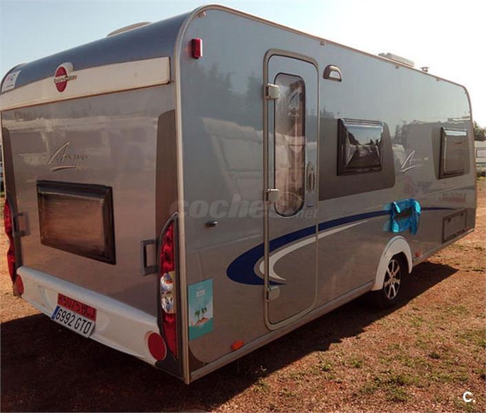 Caravana bürstner de la serie: averso, modelo 500 tk