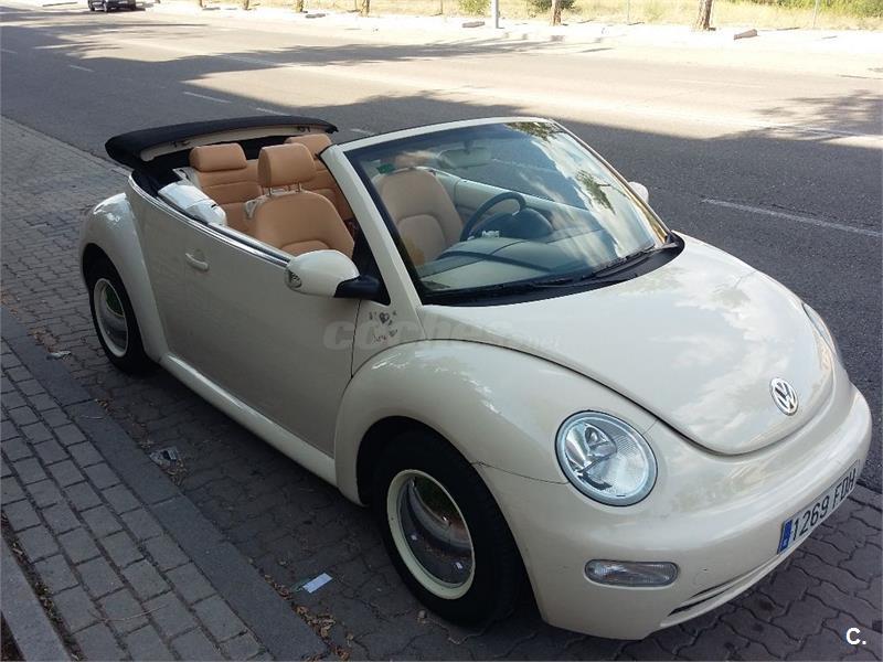 VOLKSWAGEN New Beetle 1.6 Cabriolet 2p.