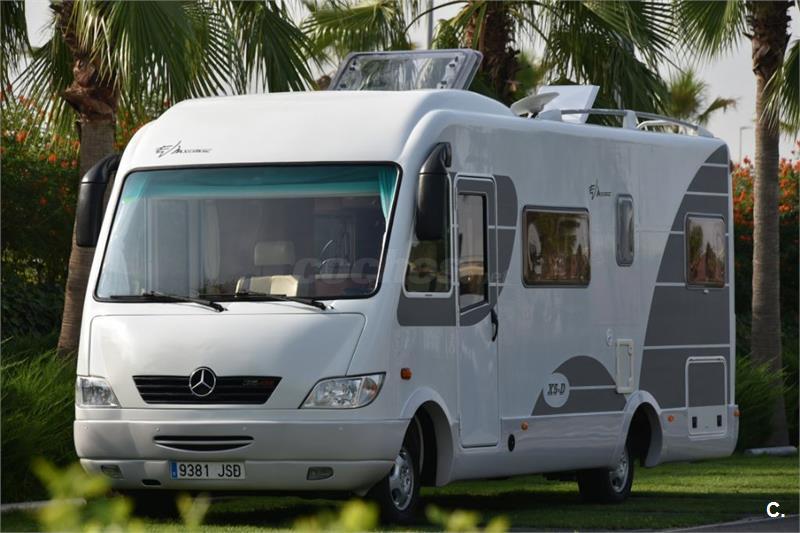 Autocaravana Mercedes Evm System X5-D