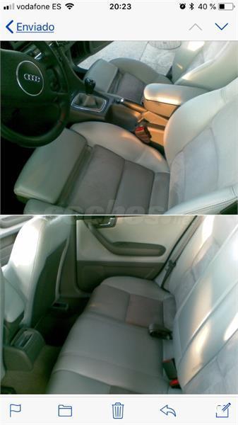 AUDI A4 1.9 TDI 6 velocidades 4p.