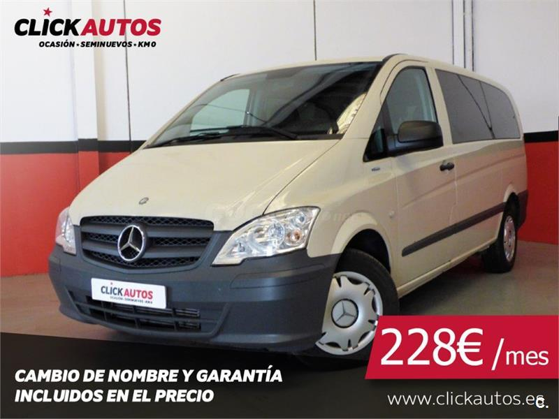 MERCEDES-BENZ Vito 113 CDI Mixto Larga 4p.