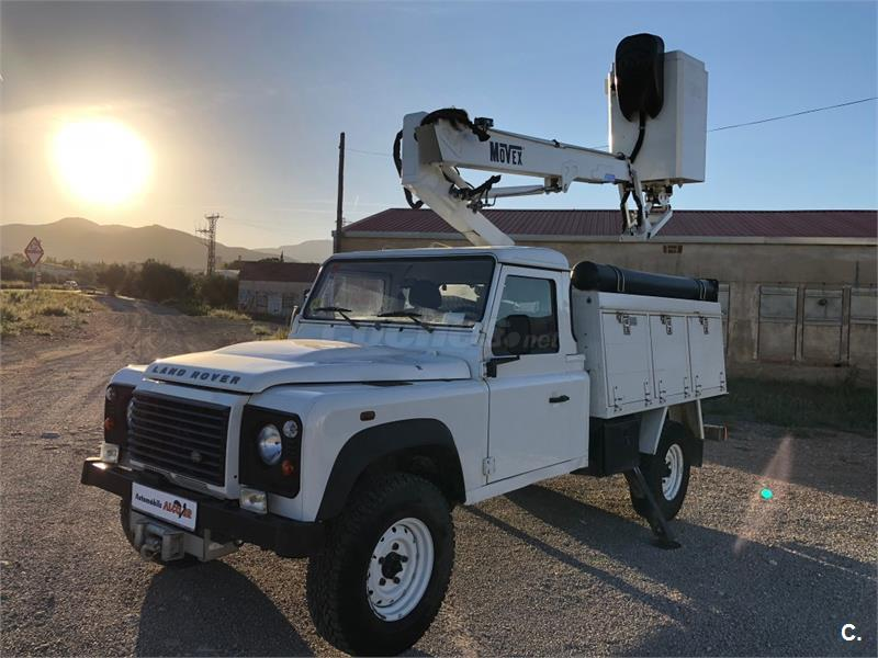 LAND-ROVER Defender 130 Chasis Cabina S