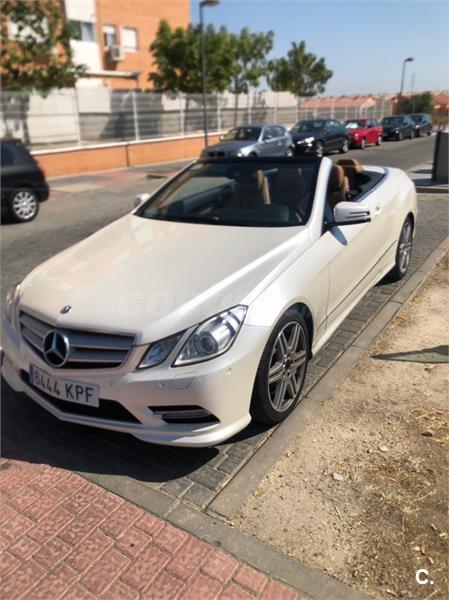 MERCEDES-BENZ Clase E Cabrio E 220 CDI BE Avantgarde 2p.