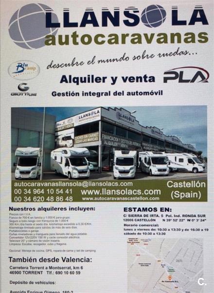 Alquiler Autocaravana Valencia y Castellón