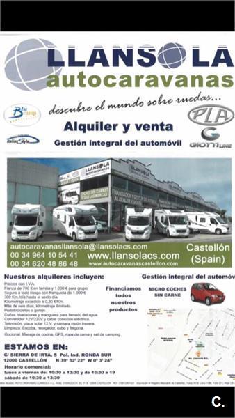 ALQUILER DE AUTOCARAVANAS EN VALENCIA Y CASTELLÓN