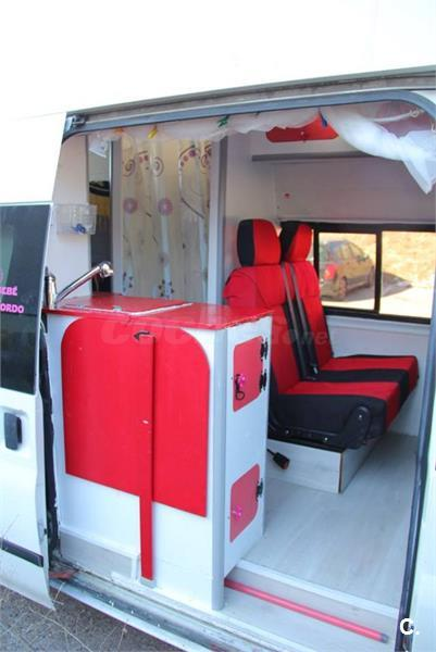 Ford transit, vehículo vivienda