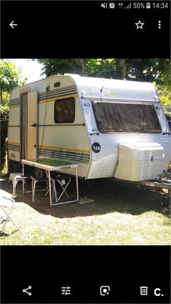 Vendo caravana Hergo de menos de 750 kg
