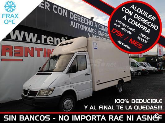 MERCEDES-BENZ Sprinter 411D 4.6T 3550