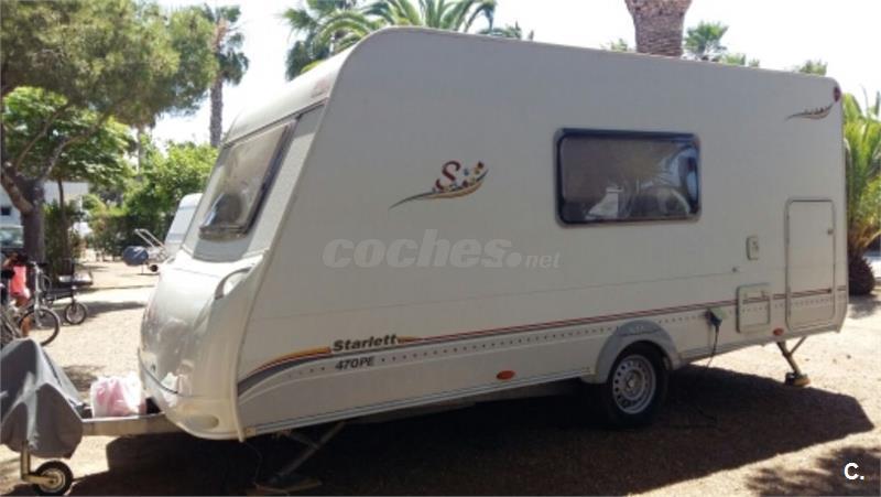 Caravana STERCKEMAN STARLETT 470 PE KIDS año 2008