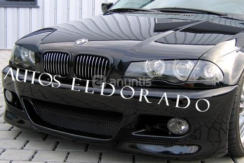 Faros Bmw E46 Angel Eyes H7