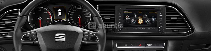 radio gps android seat leon iii ibiza en asturias 29241312. Black Bedroom Furniture Sets. Home Design Ideas
