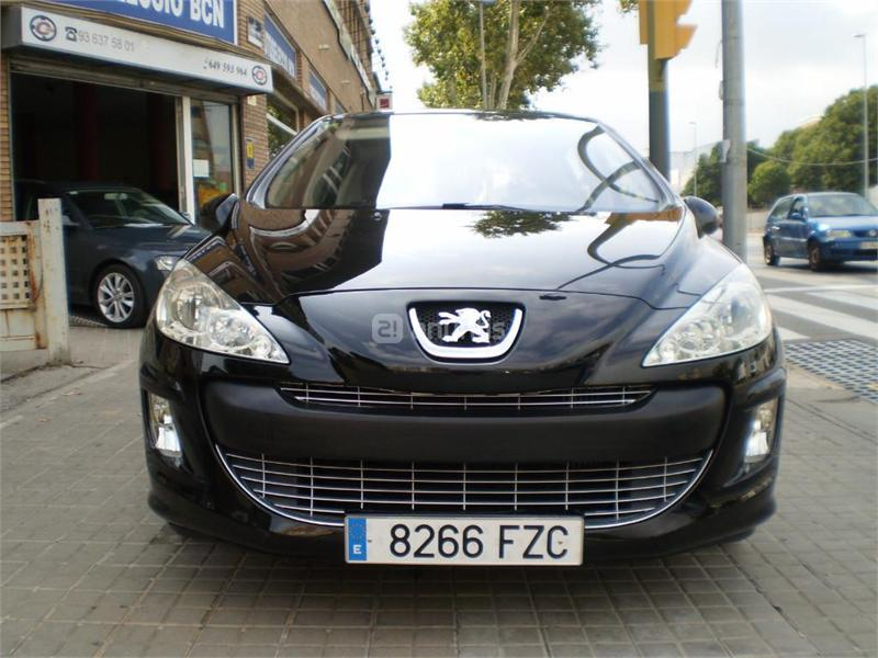 peugeot 308 premium 2 0 hdi 136 fap diesel negro del 2008 con 98000km en barcelona 29430894. Black Bedroom Furniture Sets. Home Design Ideas