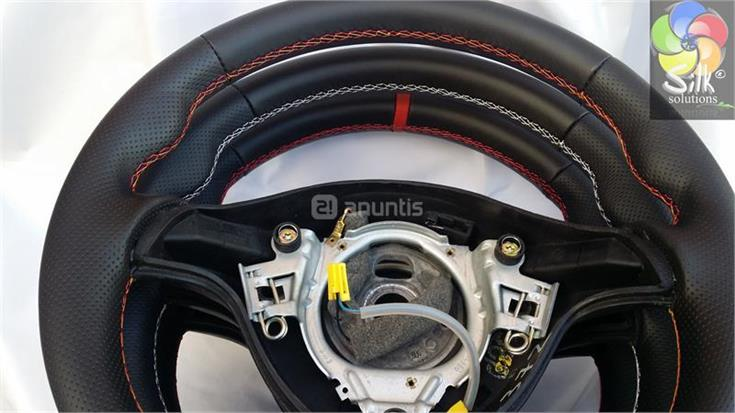 Volante tapizado sport seat leon 1m en madrid 29483371 - Tapizado coches madrid ...