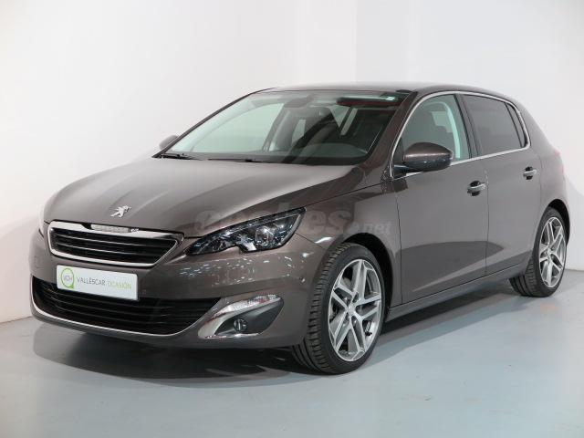 peugeot 308 nuevo 308 allure 1 6 thp 155 gasolina gris plata gris moka del 2013 con 13373km. Black Bedroom Furniture Sets. Home Design Ideas