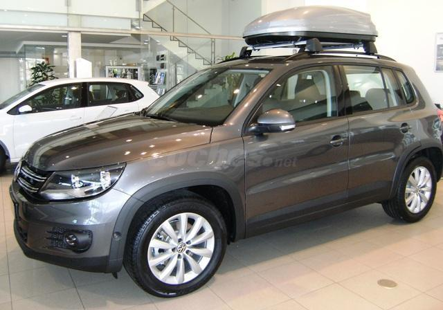 volkswagen tiguan todo terreno cross 2 0 tdi 110cv 4x2 bmt diesel de km0 de color gris plata. Black Bedroom Furniture Sets. Home Design Ideas