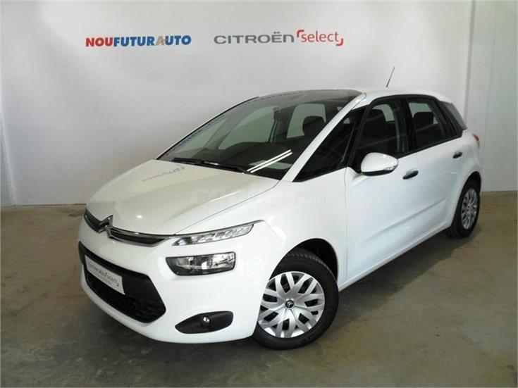 citroen c4 picasso 1 6 ehdi 115cv attraction diesel blanco. Black Bedroom Furniture Sets. Home Design Ideas