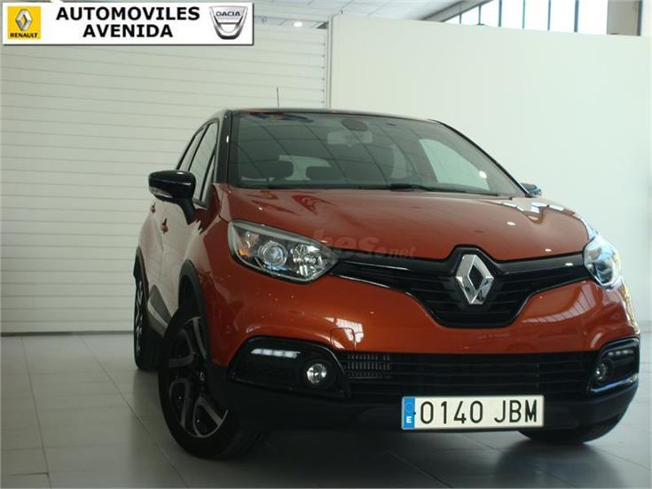 renault captur zen energy dci 90 ss eco2 diesel naranja techo negro del 2014 con 7700km en. Black Bedroom Furniture Sets. Home Design Ideas