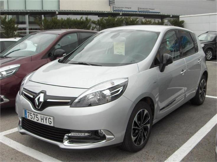 renault scenic bose energy dci 130 eco2 diesel gris plata del 2014 con 27000km en madrid. Black Bedroom Furniture Sets. Home Design Ideas