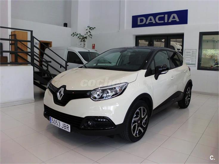 renault captur zen energy dci 90 ss eco2 diesel blanco marfil con techo negro del 2014 con. Black Bedroom Furniture Sets. Home Design Ideas