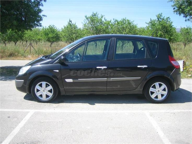 renault scenic confort expression eu4 diesel negro del 2005 con 140000km en baleares. Black Bedroom Furniture Sets. Home Design Ideas